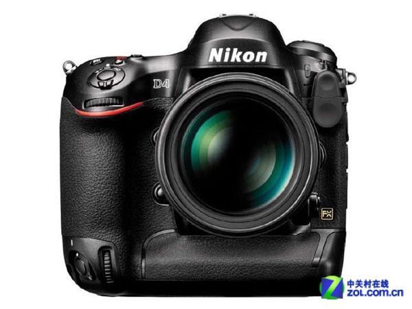 专业级单反相机 尼康D4单机现售35000元