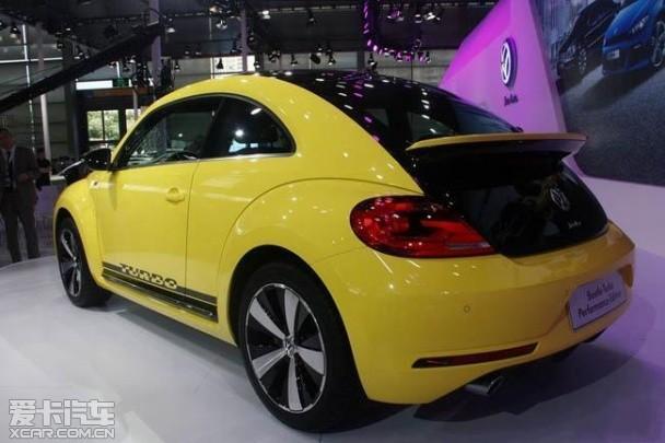 甲壳虫机能版深港澳车展上市 售33万元