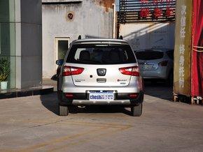 春风日产 1.6L CVT 车辆正前方尾部视角
