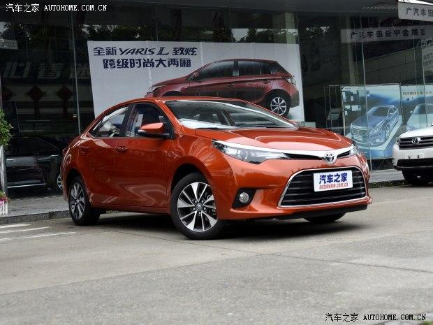 广汽丰田 雷凌 2014款 1.8V CVT奢华版