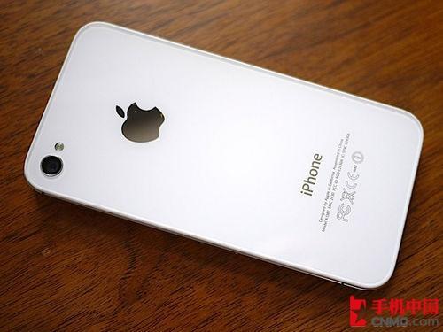 图为 苹果iPhone 4s 反面