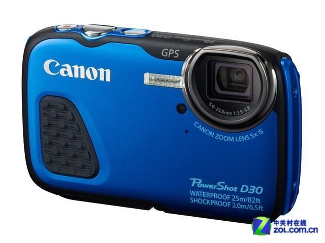 三防功用晋级 佳能D30相机亚马逊促销