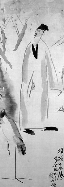 林风眠画作《梅妻鹤子图》将现身盘古春拍(图)