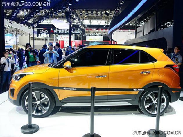 2014北京车展 北京当代ix25正式表态