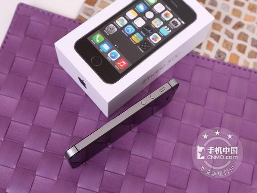 图为:苹果iphone 5s(16gb)手机背面
