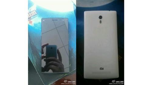 5英寸1080P屏 疑似小米手机4谍照表态