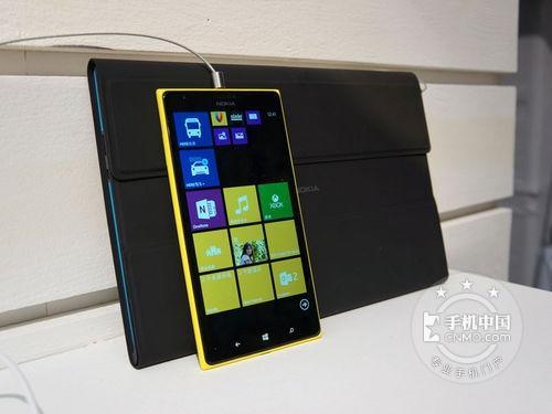 诺基亚Lumia 1520 侧面