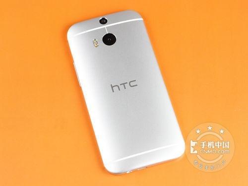 图为:HTC One M8w(联通TD-LTE版)手机反面