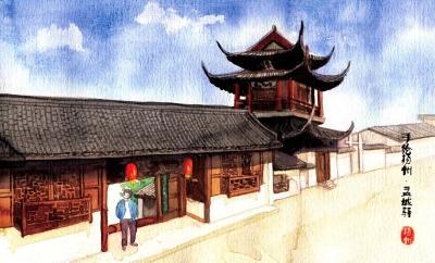 盂城驿,文昌阁