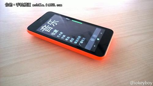 初学机 WP8.1新机Lumia X再暴光
