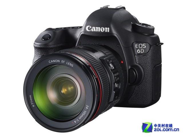全画幅单反相机 佳能6D套机亚马逊促销