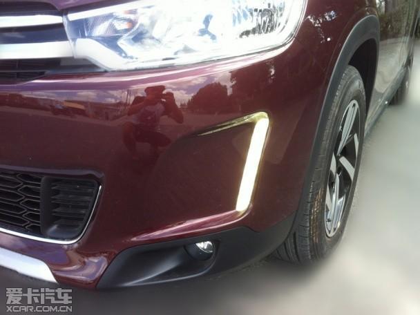 【东风雪铁龙C3-XR实车谍照】-雪铁龙全新SUV定名C3 XR 巴黎车展高清图片