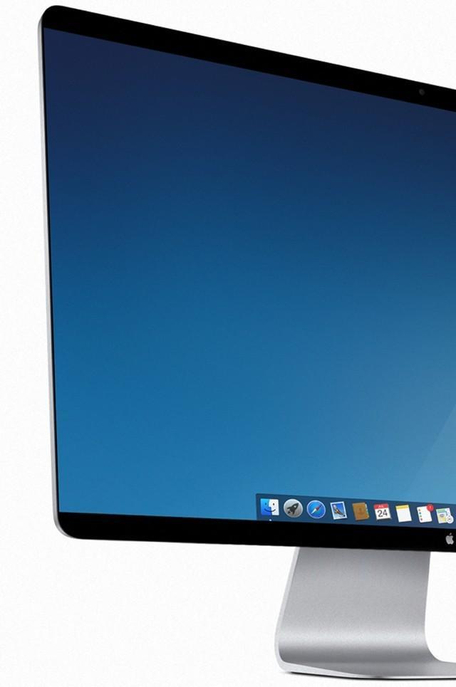 无边框4k屏幕 苹果imac概念设计预想