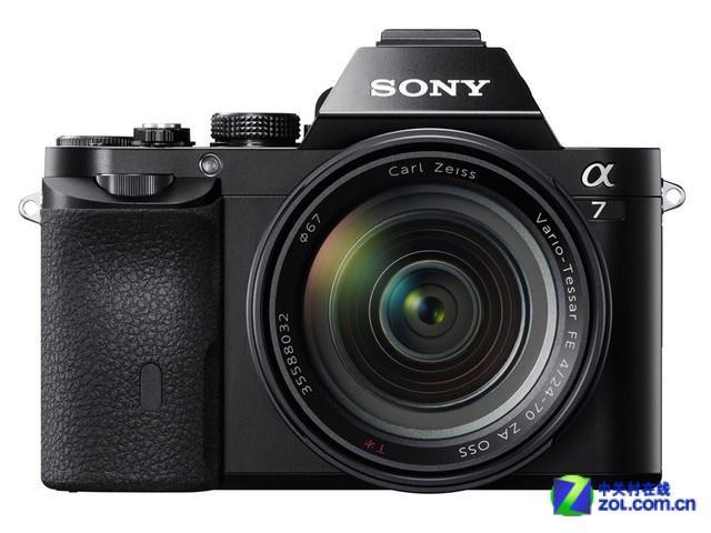 搭载24-70mm镜头 索尼A7套机京东促销