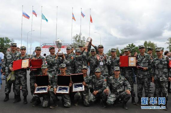 俄罗斯首届坦克两项国际比赛在莫斯科州阿拉比诺训练场结束
