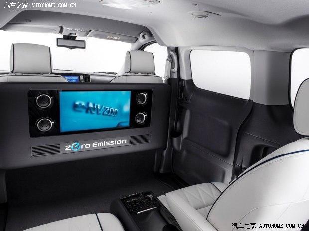 四座设计 日产e nv200 vip概念车官图高清图片