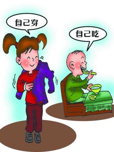 幼儿行为习惯的养成_培养幼儿受益终身的自理能力- 中国日报网