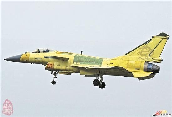 解放军最新量产型歼-10B战机曝光 机身编号12