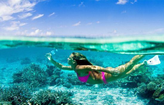 天堂的另一面:马尔代夫垃圾岛塑料瓶堆积如山(7)