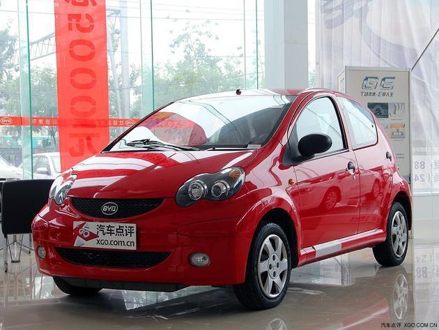 济南:比亚迪f0最高可优惠1万元 店内现车充足