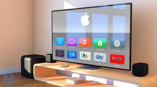 7.新Apple TV   苹果进军TV产业在当时来看是个不小的举措,也引起了市场以及用户、竞争对手的反馈或吐槽。在看我们国内网络TV产品多多少少受到了Apple TV的印象,不支持国内电视节目是Apple TV的硬伤,即便是通过DNS可以实现一部分的在线视频功能。  新Apple TV可能就是台电视机(图片来自网络)   在很多时候,Apple TV被当作是Airplay功能的中枢设备,多年来没有更新以及消费者对TV产品的期待使Apple TV在本次发布会上登场变得有可能。Apple TV还会是那个