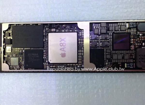 新ipad主板再度曝光(图片来自apple.club.tw)