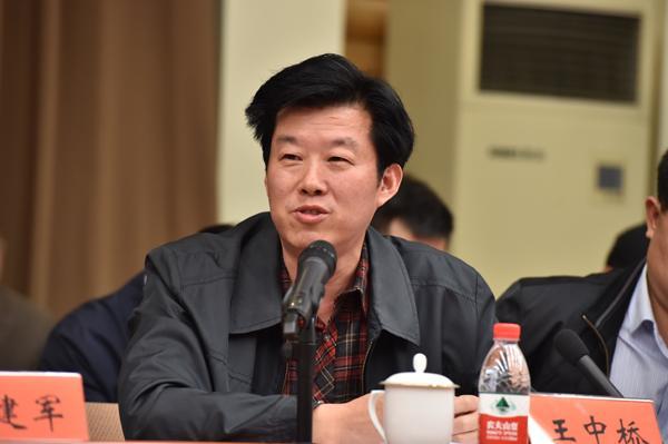 湖北省委宣传部副部长、省网信办主任王中桥