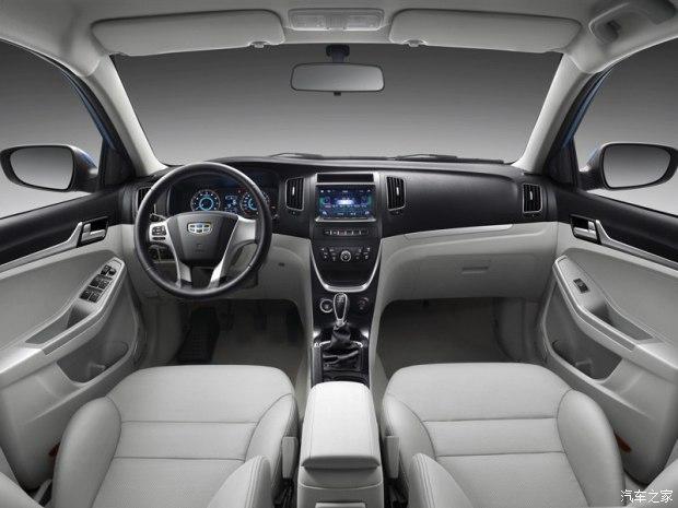 吉利汽车 远景 2015款 1.3t 手动尊贵型