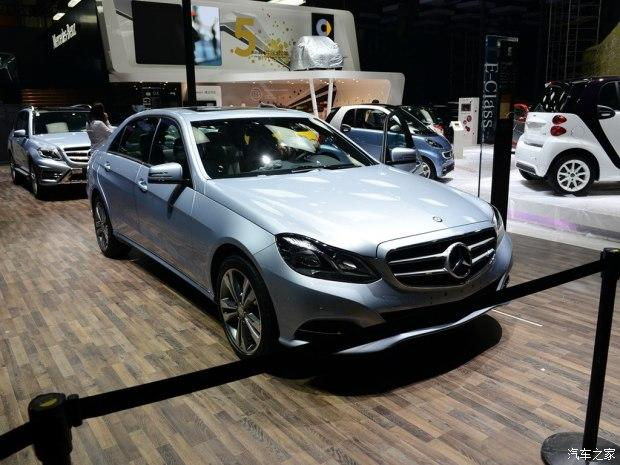 2014广州车展:奔驰e 180 l售39.8万元