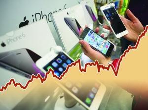 苹果股价持续上涨 公司市值升至7000亿美元图片 14371 300x222