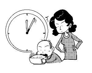多1 3岁儿童吃饭有问题 家长应掌握3W原则