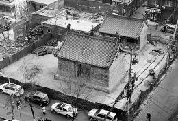 太原古圆通寺修复基本完工 修复前已风化腐朽(图)