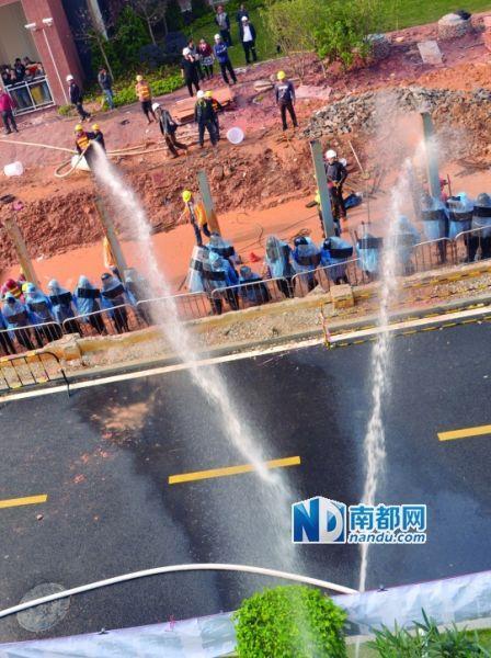 万科东莞项目与业主纠纷近2年 再次发生抗议殴斗