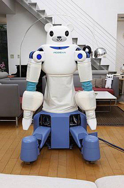 日工程師研發看護機器人 外形似北極熊憨態可掬