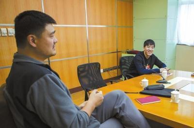 姚明谈建议被写入政府报告:我很惊讶