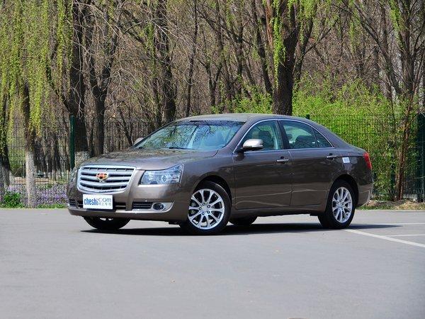 吉利汽车 2.4L 自动 车辆左前45度视角