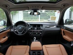 宝马X3最高让6.52万 购车送2万豪华装潢