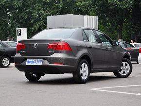 一汽-大众 1.6L 手动 车辆右侧尾部视角