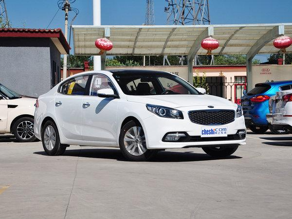 东风悦达起亚 1.8L 自动 车辆右侧45度角
