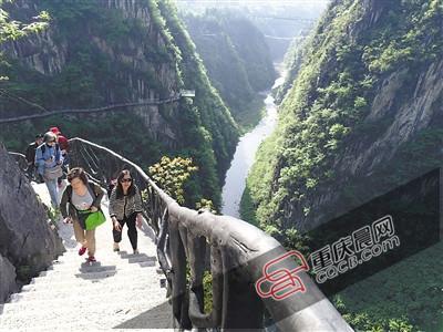 黔江将在悬崖上建玻璃栈道 300米高空挑战心跳