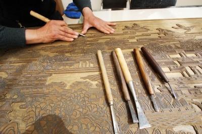 史上最大雕版《运河吟》将问世长2.5米宽0.6米,景德镇陶瓷学院教务三峽802公車路線圖