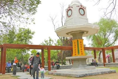 汴京公园升级改造 西靠开封老城墙(图)