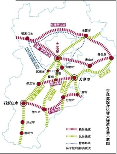 京唐京滨城际年内开工 27条城际铁路将联通京津冀