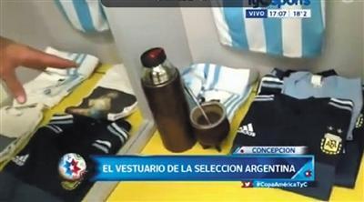 揭秘阿根廷队更衣室:拉维奇是
