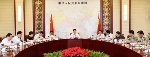 7月9日,中共中心政治局委员、地方政法委布告孟建柱在京掌管举行地方政法委第十八次整体会议暨地方司法体系改革指导小组专题集会并发言。郝帆 摄
