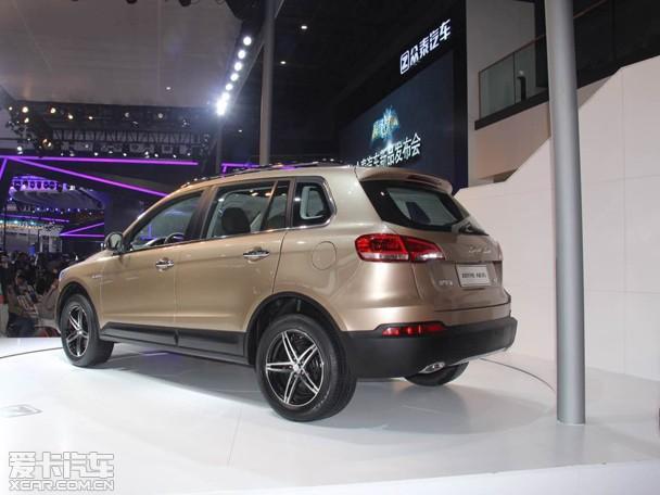 众泰大迈X5上海车展首发 年内正式上市