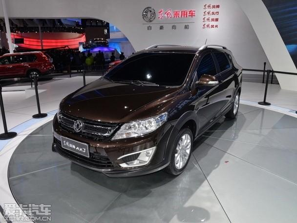 东风风神AX3上海车展发布 定位小型SUV