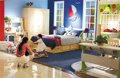 业内人士表示,儿童家具国家标准并不难执行,关键在于企业的重视程度。 新京报记者 王远征 摄