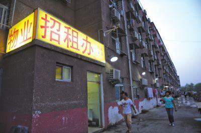 中傳女學生遇害的公寓。京華時報記者譚青攝