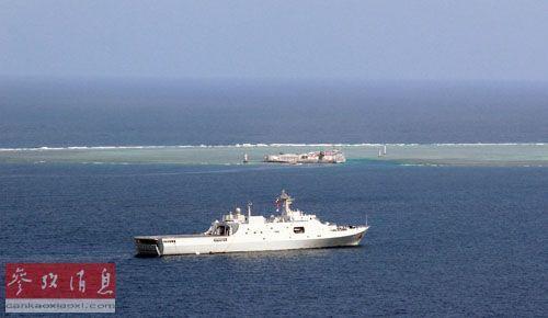 美称中国填海装备世界第一 造岛面积是越南50倍